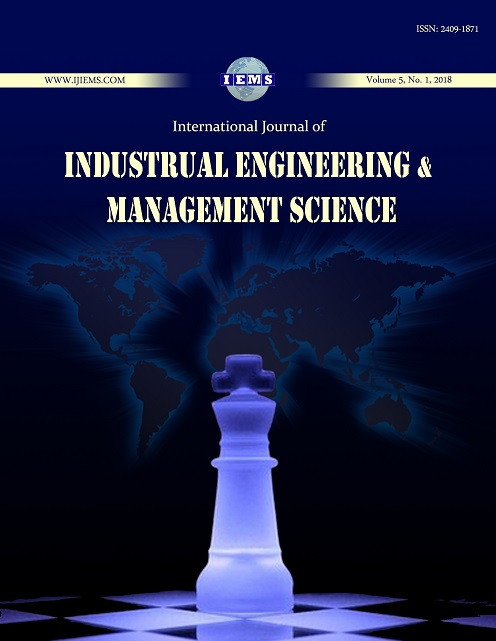 International Journal of Industrial Engineering and Management Science